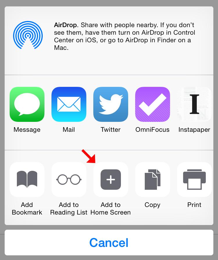 how to set homepage on safari iphone 5