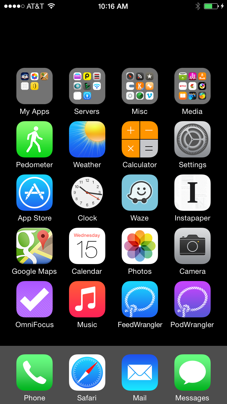 Invisible Ios Home Screen Icons David Smith Independent Ios Developer